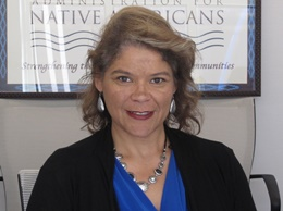 """Carmelia """"Mia"""" Strickland, Lumbee Tribe of North Carolina, Director of the Division of Program Operations"""